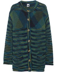 M Missoni Cotton and Woolblend Jacket - Lyst