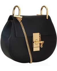 Chloé Mini Drew Shoulder Bag - Lyst