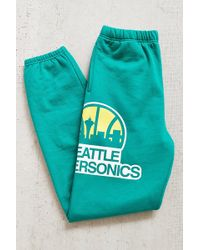 Mitchell & Ness Seattle Supersonics Sweatpant - Lyst