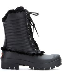Hunter Original Patent Pac Boots - Lyst