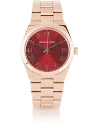 Michael Kors Channing Rose Gold-tone Watch - Lyst