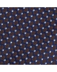 John Lewis - Made In Italy Oval Pattern Woven Silk Tie - Lyst