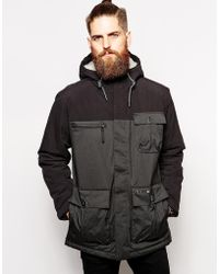 Helly Hansen Parka With Utility Pockets And Hood - Lyst