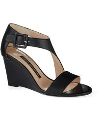 French Connection Unice Wedges - Lyst