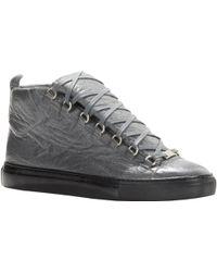 Balenciaga Arena High-Top Sneakers - Lyst