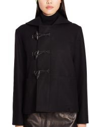Polo Ralph Lauren Wool-blend Toggle Coat - Black