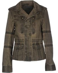 Zadig & Voltaire | Distressed Cotton Jacket  | Lyst