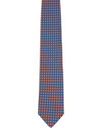 Duchamp Polka Dot Silk Jacquard Neck Tie - Lyst