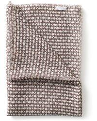 Sunspel - Women's Fine Cashmere House Print Scarf - Lyst