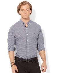 Polo Ralph Lauren Buffalo Check Poplin Shirt - Lyst
