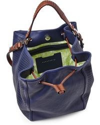 Sanctuary - Deep Sea Blue Getaway Bucket Bag - Lyst