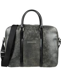 DSquared² Work Bags - Brown