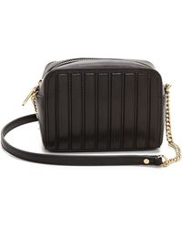 Milly Ludlow Mini Cross Body Bag - Black - Lyst