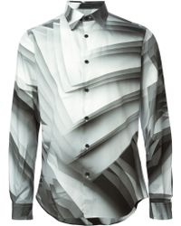 Christopher Kane Pages Print Shirt - Lyst