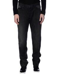 Givenchy Denim Trousers - Black