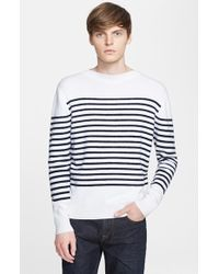 Burberry Brit 'Halsted' Trim Fit Cashmere, Cotton & Merino Wool Sweater - Lyst