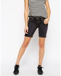 Skargorn Owl Denim Shorts - Lyst