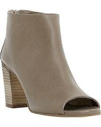 Dune Joyfull Peep-Toe Ankle Boots - Lyst