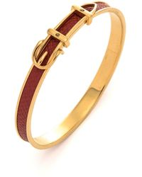 Hermès HermãˆS Belt Buckle Bangle - Lyst
