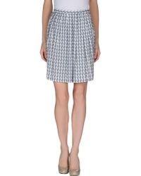 M. Grifoni Denim - Knee Length Skirt - Lyst