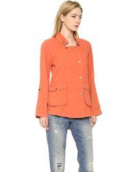 Textile Elizabeth and James - Kelsey Parka Orange - Lyst