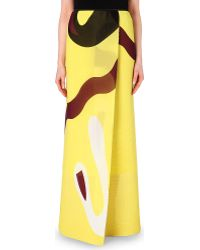 Issa Debi Chiffon Skirt - For Women - Lyst