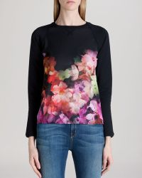 Ted Baker Sweater - Lanie Floral - Lyst