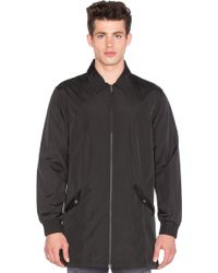 I Love Ugly - Longline Coaches Jacket - Lyst