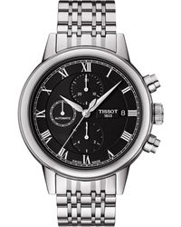 Tissot Mens Carson Automatic Chronograph Watch - Lyst