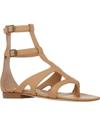 Manolo Blahnik Eliza Gladiator Sandals - Lyst