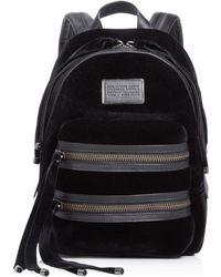 Marc By Marc Jacobs - Domo Biker Velvet Backpack - Lyst