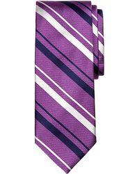 Brooks Brothers Sidewheeler Stripe Tie - Lyst