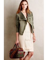 Marrakech - Sweaterstitch Moto Jacket - Lyst