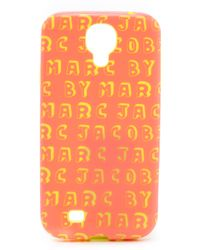 Marc By Marc Jacobs Dynamite Logo Samsung Galaxy Case - Bright Blue Multi - Lyst