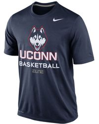 Nike Connecticut Huskies Basketball Practice T-shirt - Lyst