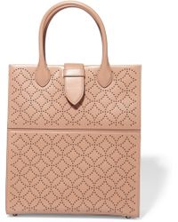 Alaïa - Arabesque Studded Leather Tote - Lyst