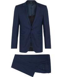 BOSS | 'huge/genius' | Slim Fit, Virgin Wool Suit | Lyst