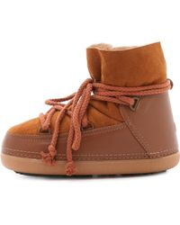 Ikkii - Leather and Suede Snow Boots - Lyst