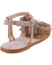 Chinese Laundry - Kristin Cavallari For Tommy Kid Fringe Sandals - Taupe - Lyst