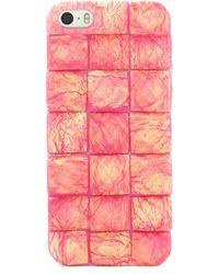 BaubleBar - Pink Sparkle Iphone 5 Case - Lyst