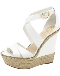 Vince Camuto Marcela Wedge white - Lyst