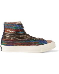 Converse All Star Chuck Taylor Woven High-top Sneakers - Lyst