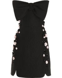 Giambattista Valli Strapless Embellished Dress - Lyst