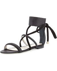 Jason Wu Ankle-strap Flat Sandal - Lyst