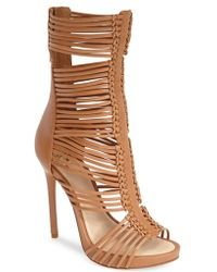 Vince Camuto 'Barbara' Strappy Caged Leather Sandal - Lyst