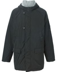 James Perse - Hooded Padded Coat - Lyst