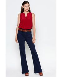 Joie Aruna Top red - Lyst