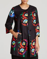 Marina Rinaldi Plus Chiostro Floral Print Jacket - Lyst