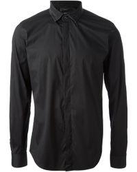 Diesel Denim Collar Shirt - Lyst