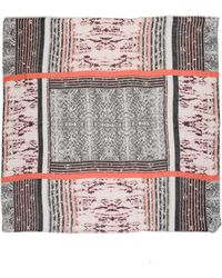 The Textile Rebels Square Scarf - Lyst